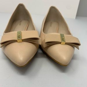 Brand new Cole Haan Elsie cream flats with…